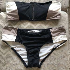 DKNY Colorblock Bikini
